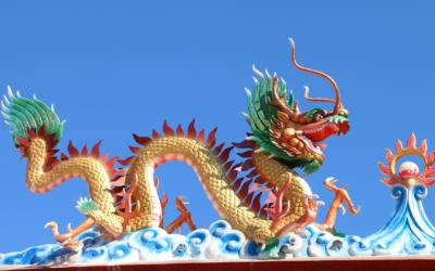Vital wie ein Drache – Daoistische Hintergründe und Prinzipien zur Übungspraxis des Taiji und Qi Gong von Großmeister Shen Xijing und Tobias Puntke